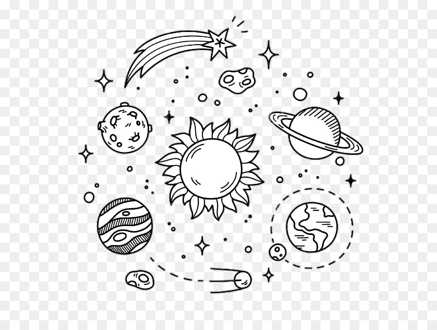Drawing Planet Solar System Earth Planet Png Download 720 675