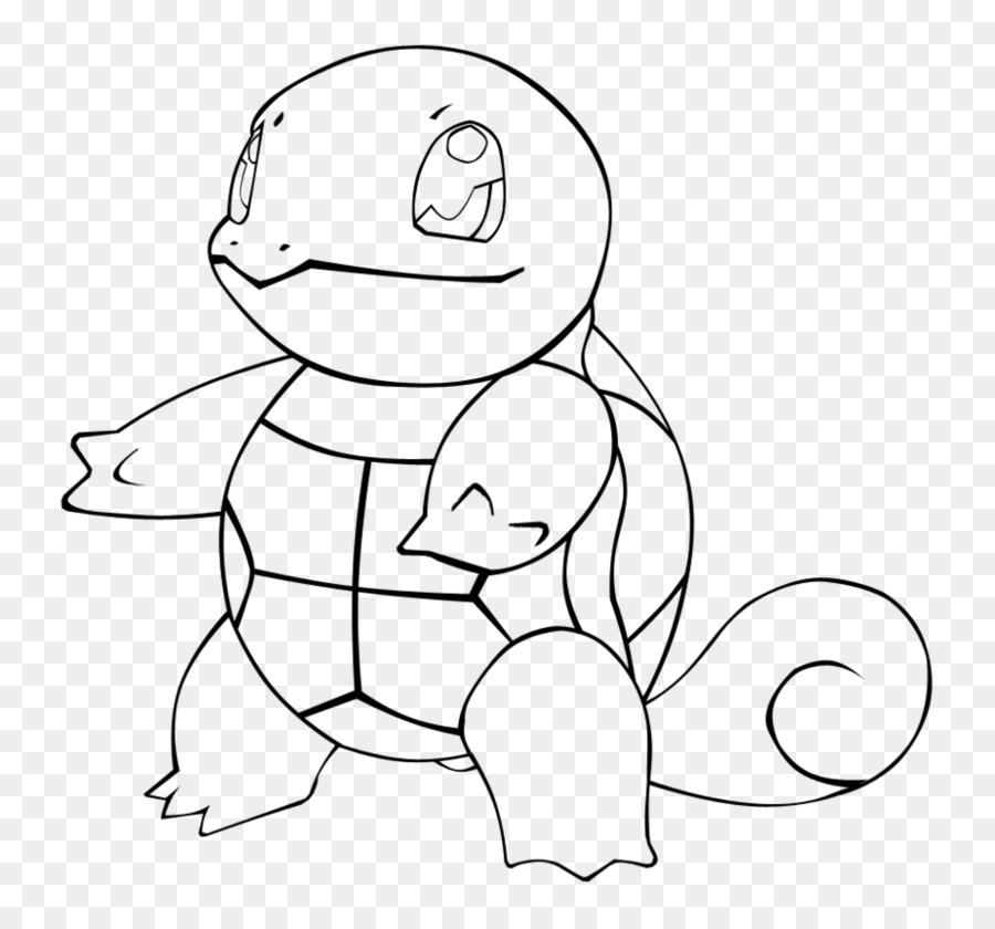 Dibujo de Squirtle libro para Colorear Pikachu arte de Línea ...