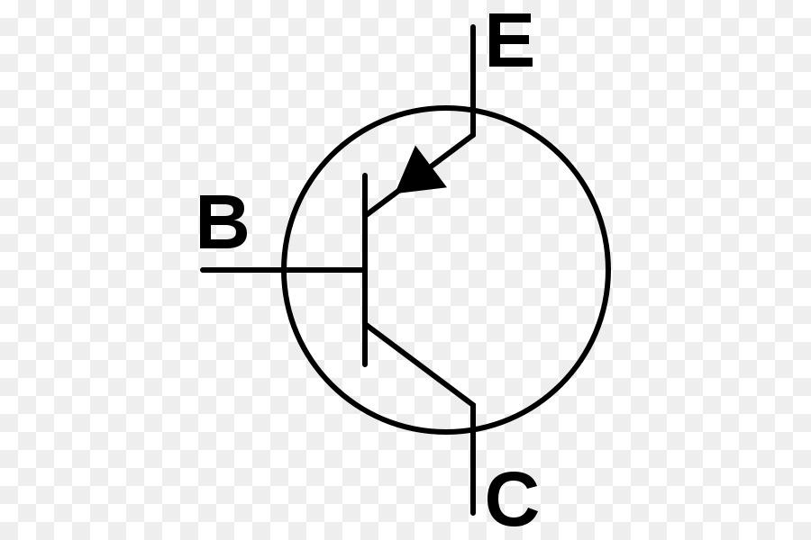 Bipolar Junction Transistor Electronic Symbol Npn Electronic Circuit