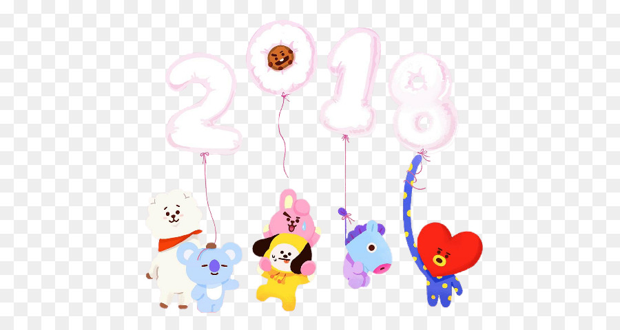 Bts Bt21 Line Friends K Pop Others Png Download 522 480 Free