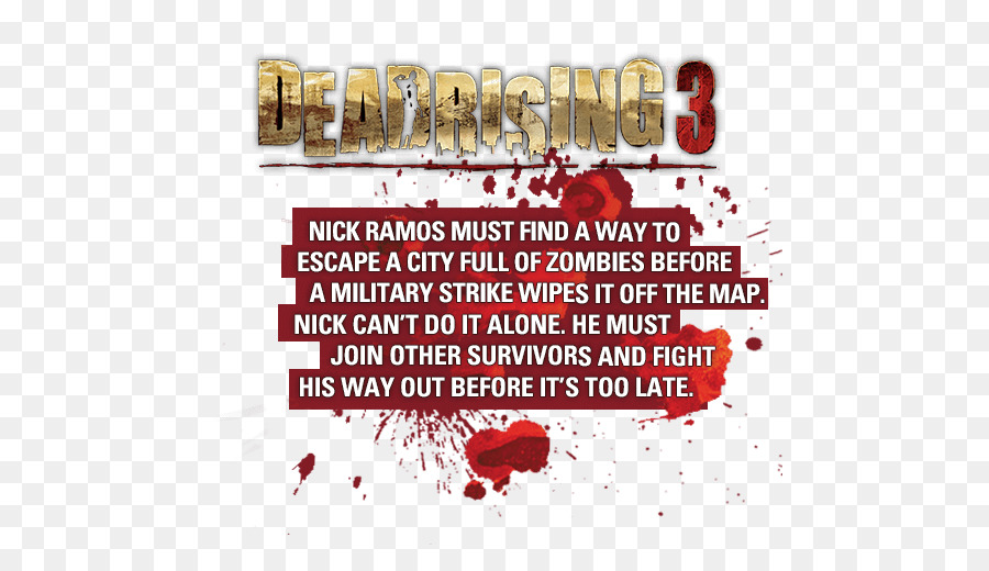 Dr Nick png download - 524*509 - Free Transparent Dead Rising 3 png Dead Rising Map on