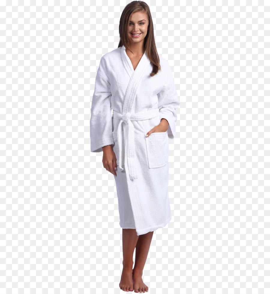 Bathrobe Clothing Dress Hospital Gowns - Spa Flyer png download ...