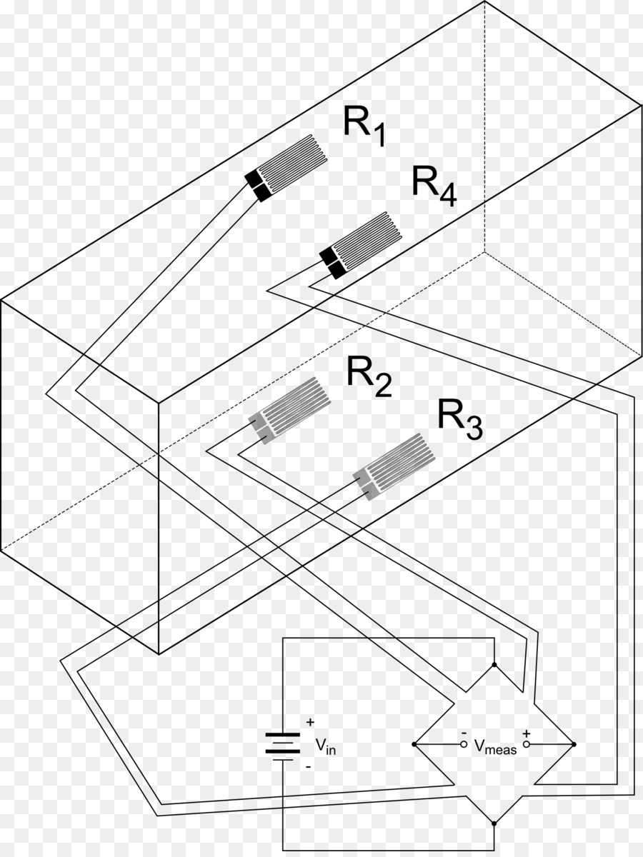 Strain Gauge Load Cell Electronic Circuit Component Cancelled