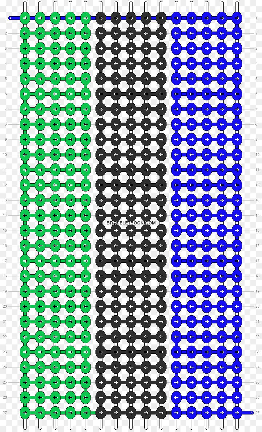 Etiqueta engomada de la Amistad pulsera Patrón de Ganchillo - diseño ...