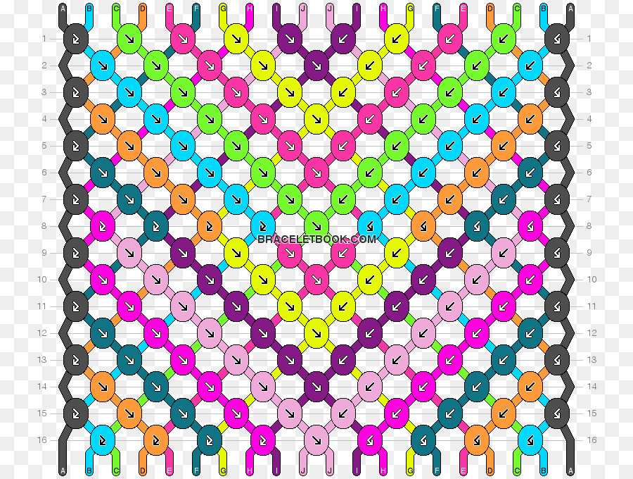 Friendship Bracelet White Knot Friendship Bracelet Pattern Png