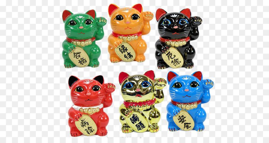 Cat Maneki Neko Luck Kitten Color Cat Png Download 610475