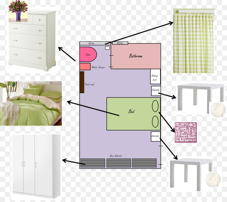 Bedroom Living Room House Curtain   Master Diagram Design