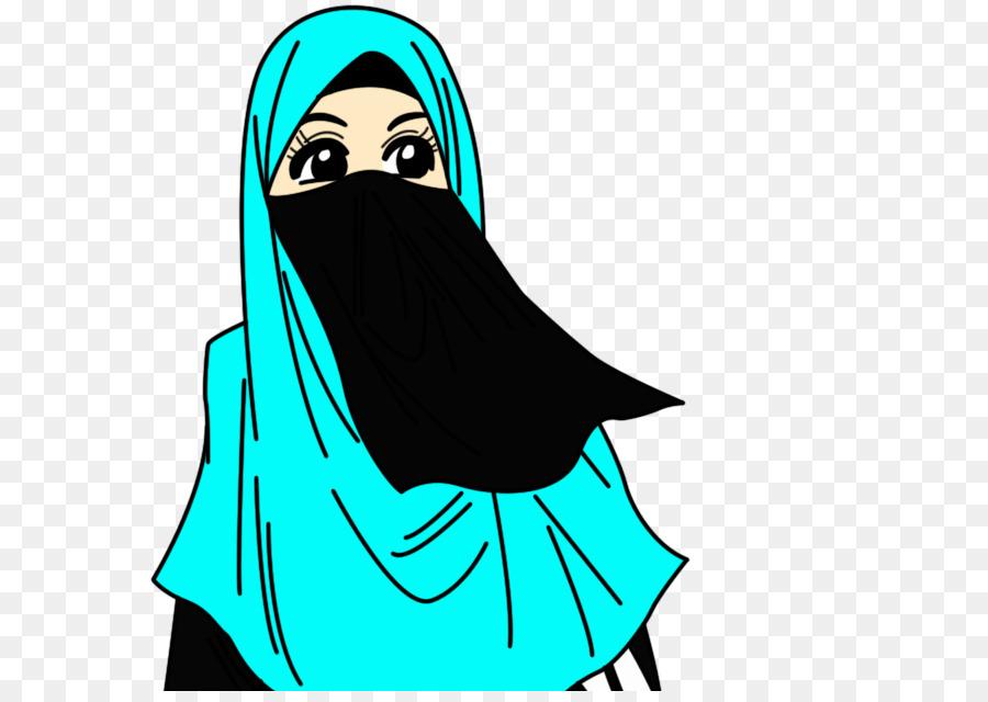Muslim Hijab Dawah Woman Kartun Muslimah Png Download 662630