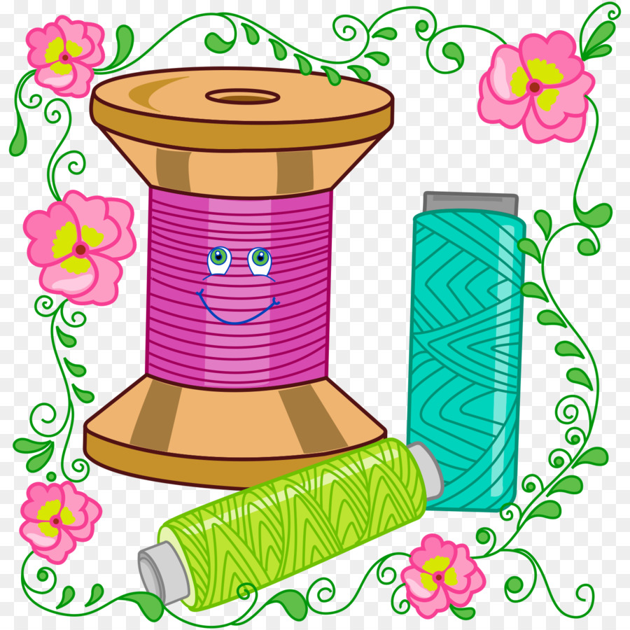 Sewing Embroidery Thread Overlock Clip Art Embroidery Designs For