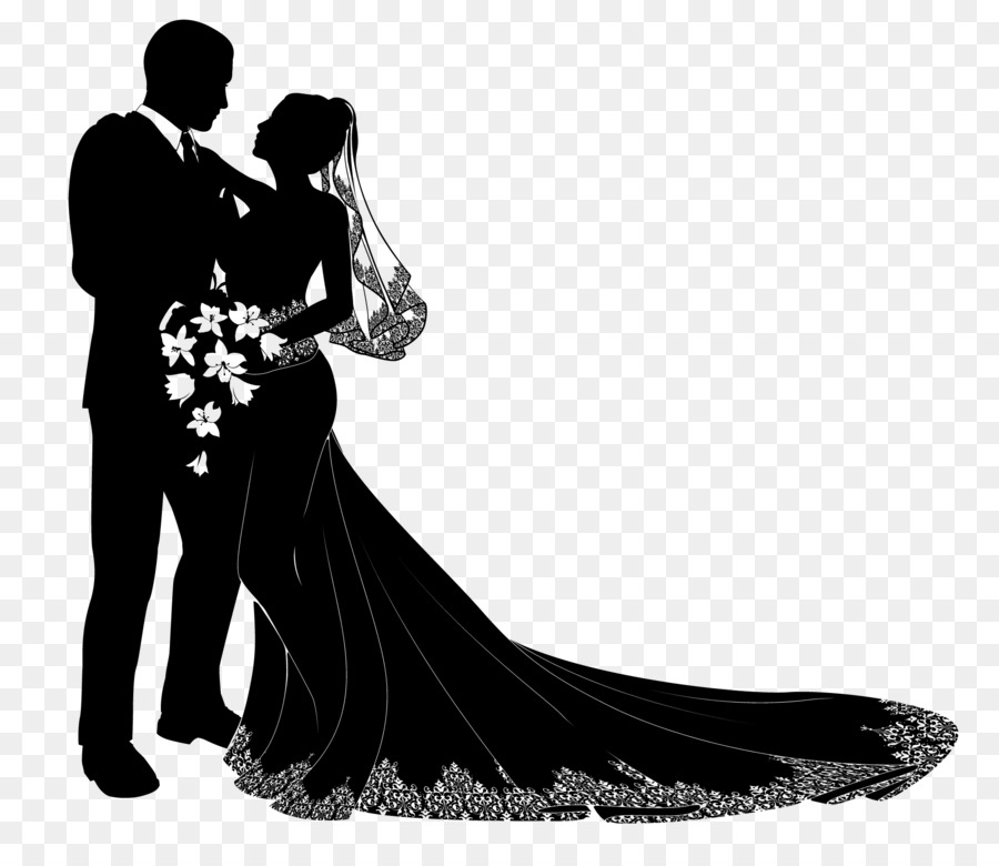 Wedding Invitation Bridegroom Bride Png Download 20001699