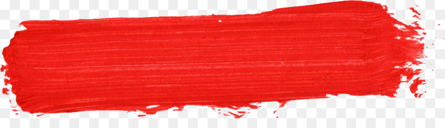 Red Paintbrush Red Brush Stroke Png Download 1024274 Free