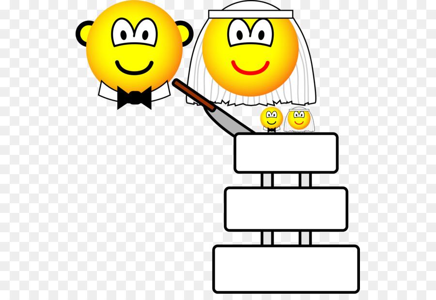 Smiley Emoticon Wedding Cake Clip Art Smiley Png Download 587