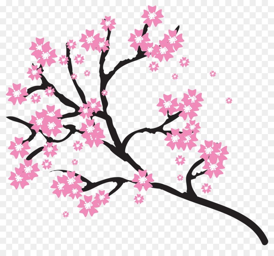 cherry blossom clip art cherry blossom png download 1000 913 rh kisspng com cherry blossom clipart free cherry blossom clip art borders