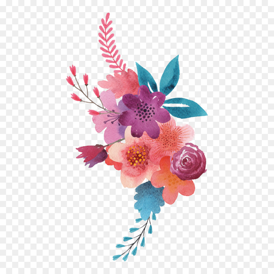 Floral Design Cut Flowers Flower Bouquet Tattoo Flower Png