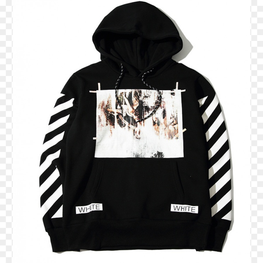 1f429a5e68f Hoodie T-shirt Off-White Sweater Bluza - T-shirt png download - 900 ...