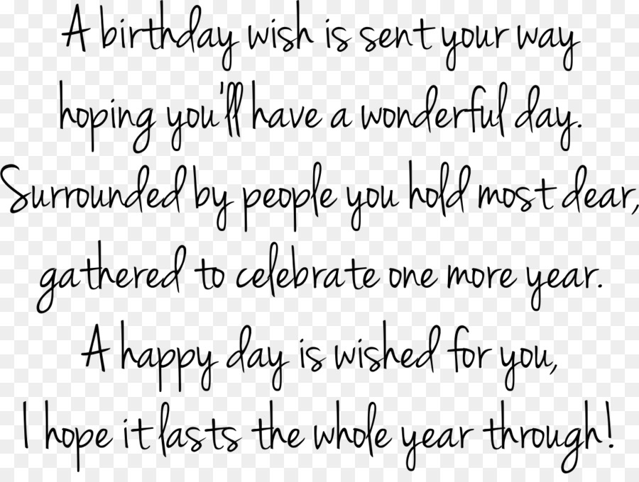 Birthday Quotation Happiness Text Handwriting PNG