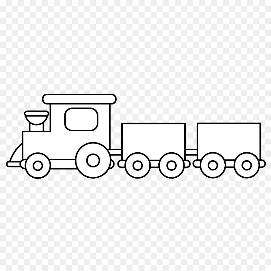Tren de Dibujo de Transporte de libro para Colorear de Niño - tren ...