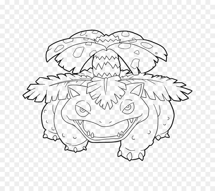 Pokemon Kleurplaten Ivysaur.Line Art Venusaur Drawing Pokemon Go Bulbasaur Pokemon Go Png