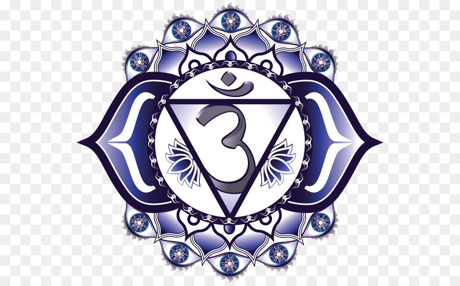 Ajna Third Eye Chakra Symbol Meditation Symbol Png Download 600