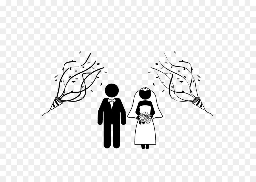 Bridegroom Wedding Drawing Clip Art Bride 640640 Transprent Png