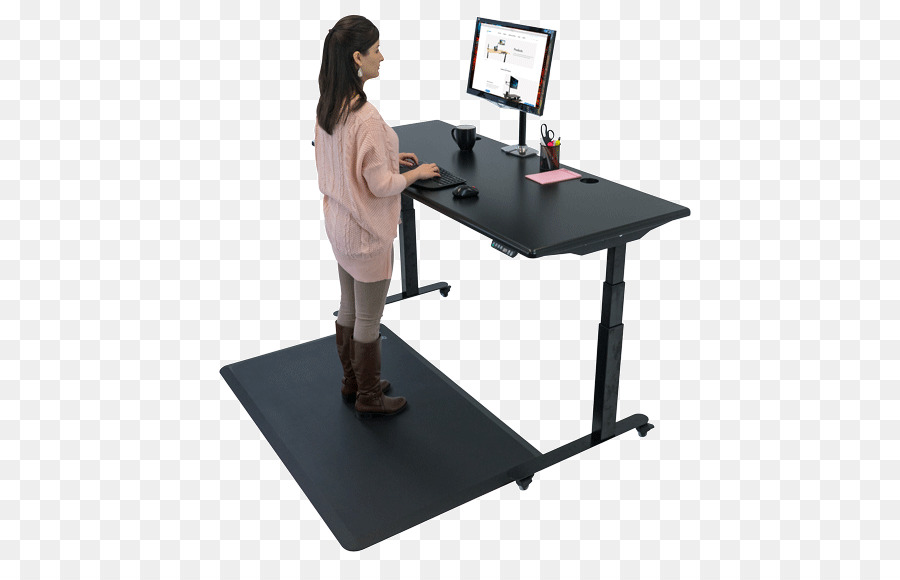 Treadmill Desk Standing Desk Table Table Png Download 500 565