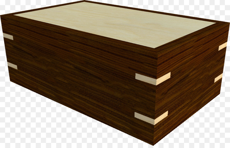 Cigar Box Casket Rectangle Wood Stain Box Png Download - Casket coffee table