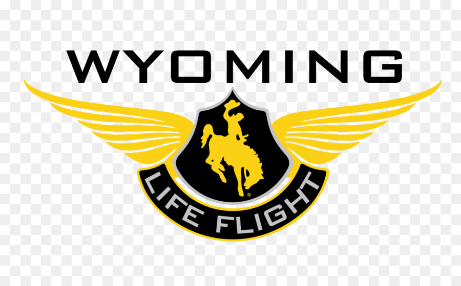 logo wyoming helicopter flight for life emergency medical services