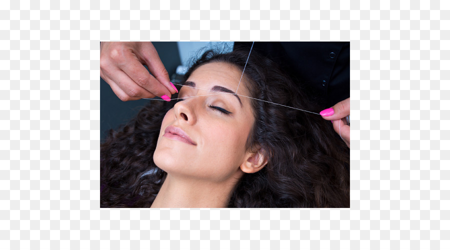 Threading Beauty Parlour Eyebrow Hair Removal Waxing Hair Png