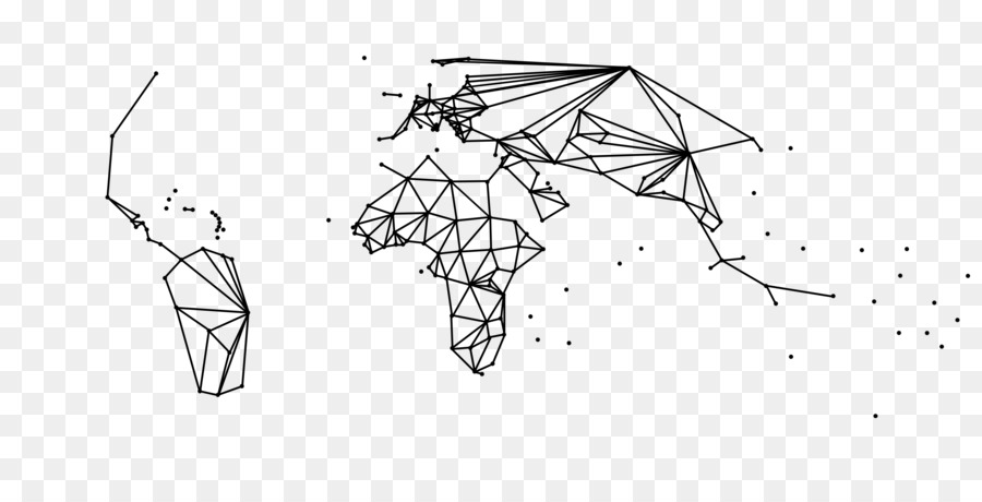 Geography World Map Drawing Map Png Download 4500 2234 Free