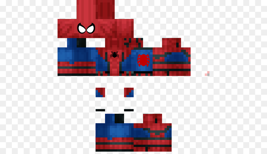 SpiderMan Minecraft Pocket Edition Skin PlayStation Spiderman - Skins para minecraft pe de batman