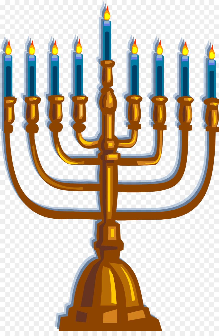 Hanukkah Menorah Font Pesach Png Download 17752683 Free