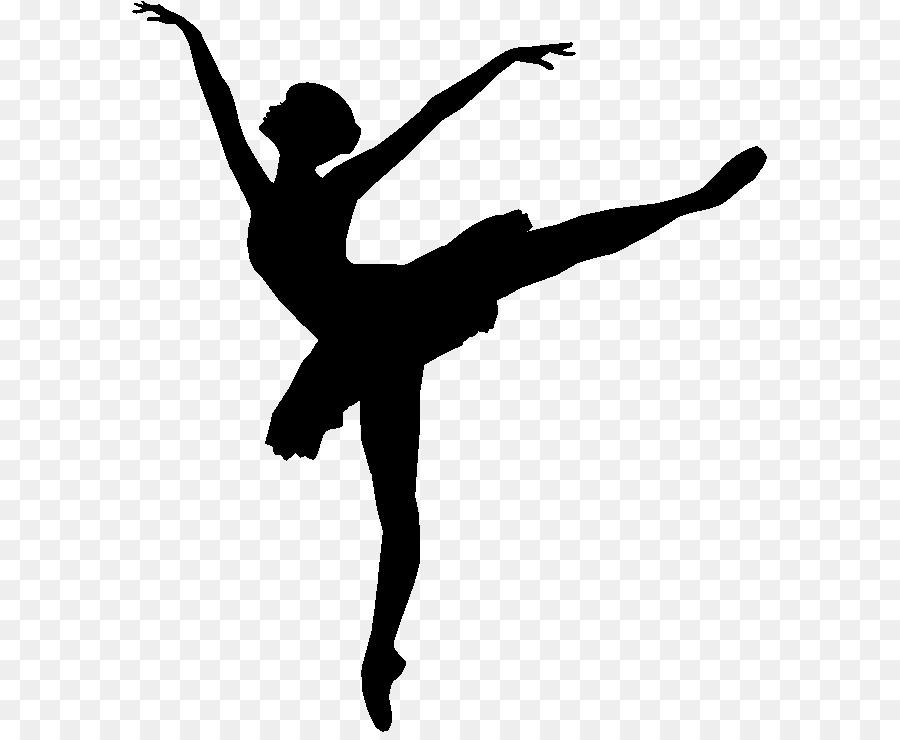 Bailarina De Ballet Dibujo De La Silueta