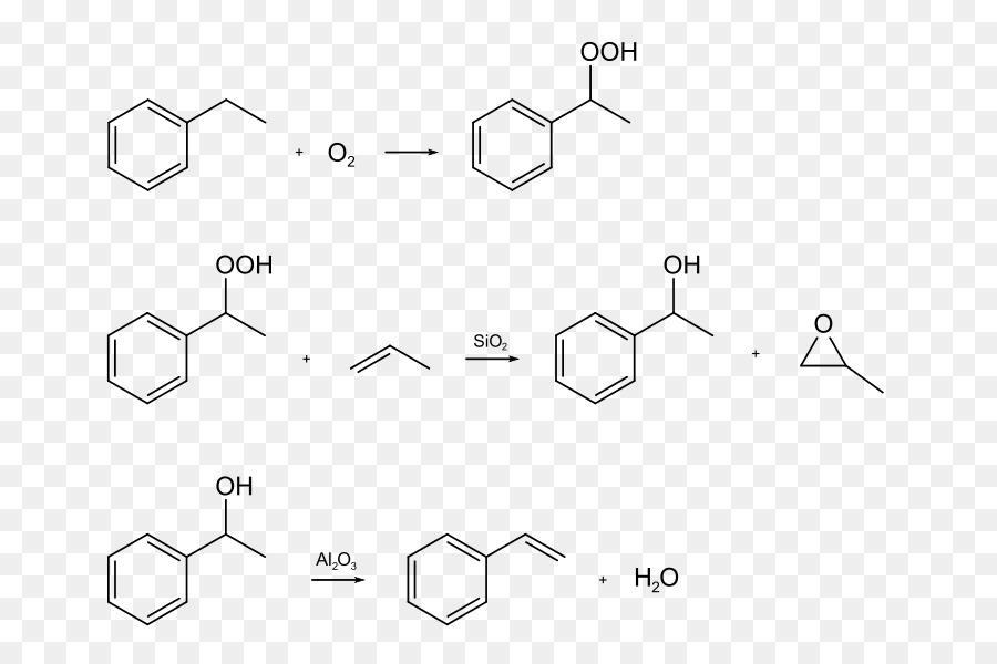 Estireno Etilbenceno Propeno masa Solar fórmula Química - síntesis ...