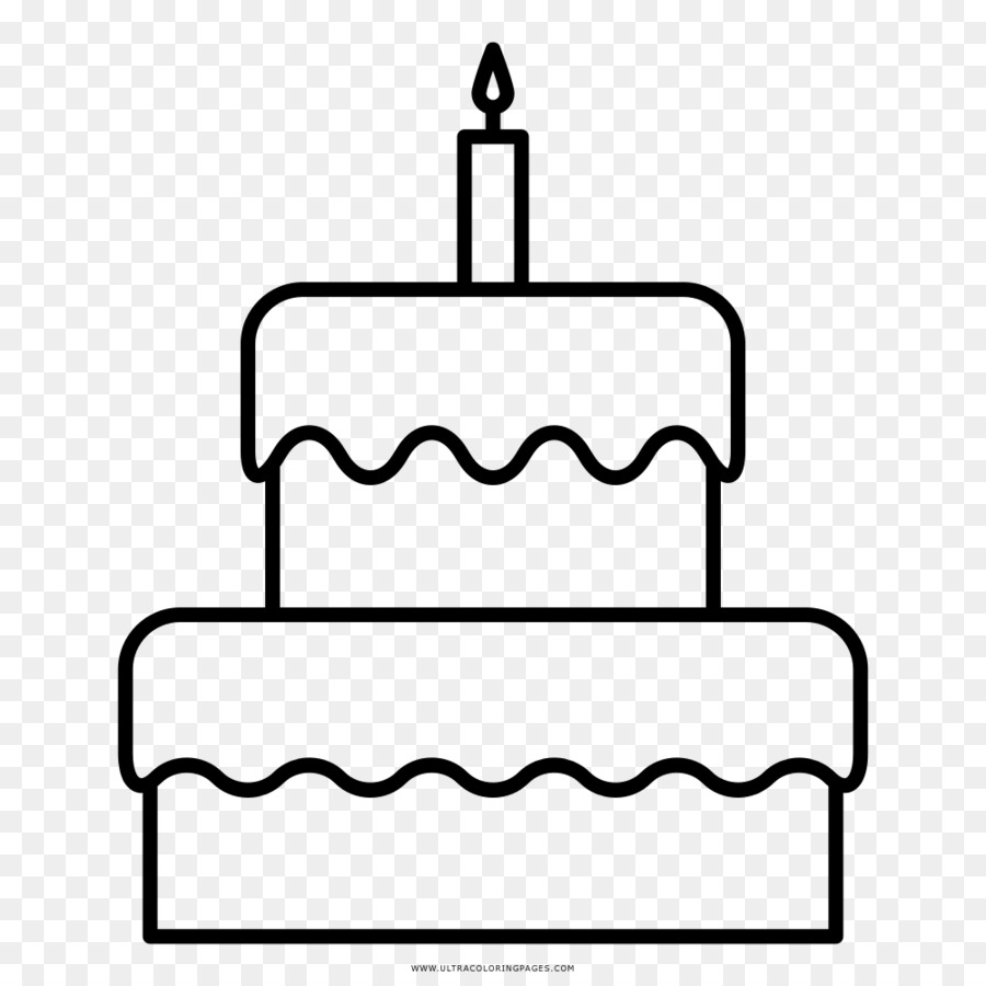 Birthday Cake Drawing Coloring Book Cake Png Download 10001000