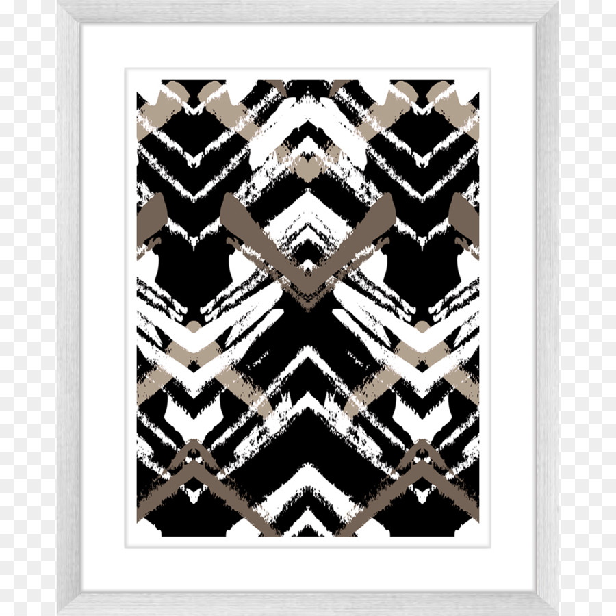 Picture Frames Shades of brown Blue Black Pattern - Abstract Poster ...