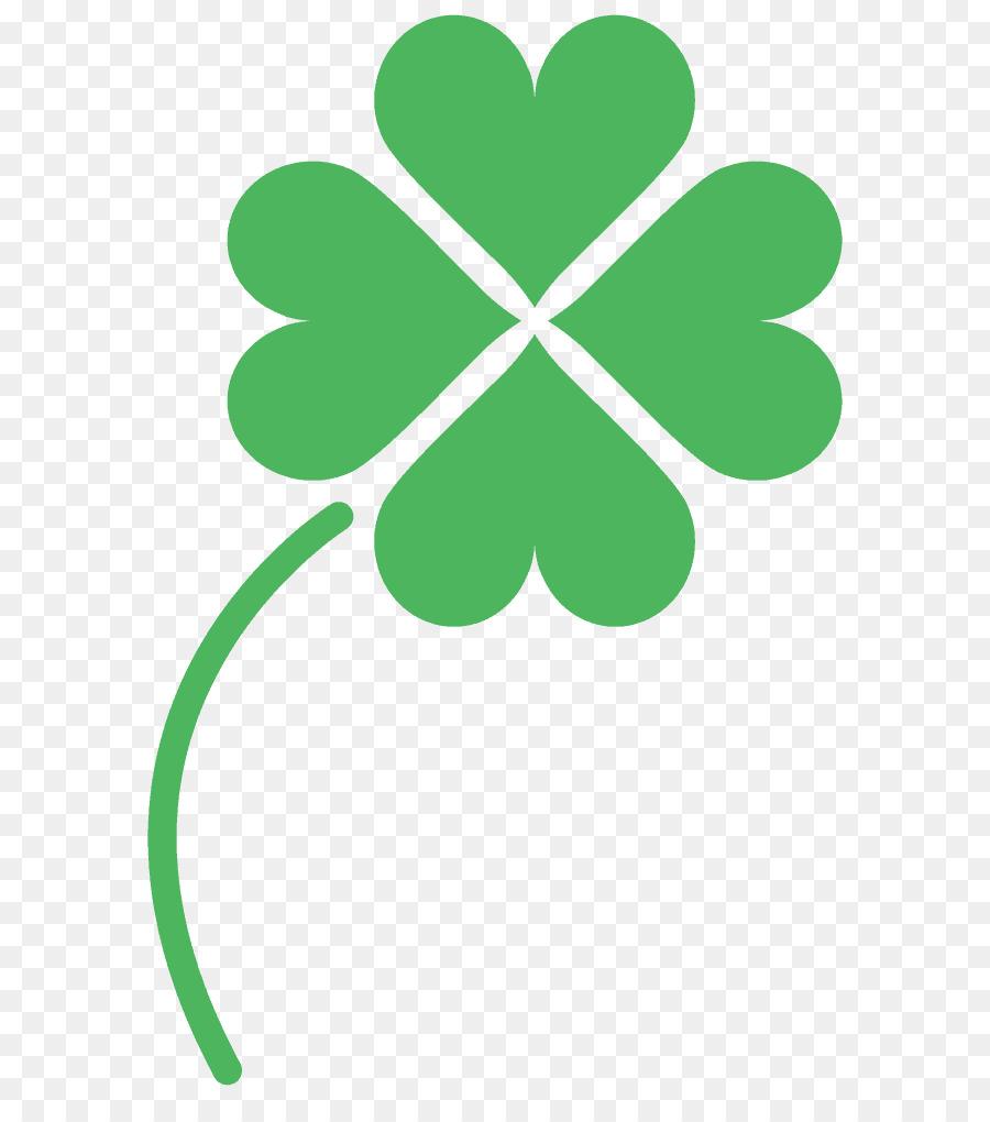 Four Leaf Clover Text Clip Art Leaf Png Download 6491001 Free