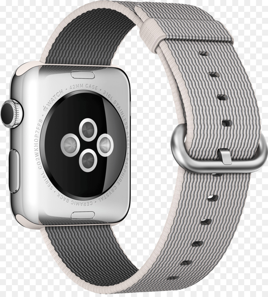 Apple Watch Series 1 38mm Space Black Case With 2 Stainless Steel Link Bracelet Smartwatch