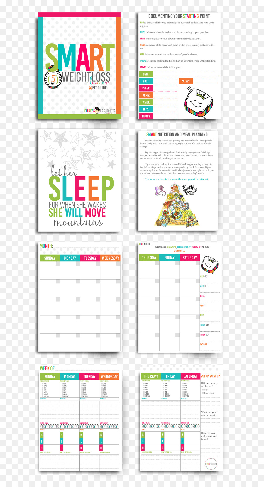 Weight Loss Template Exercise Physical Fitness Weight Watchers