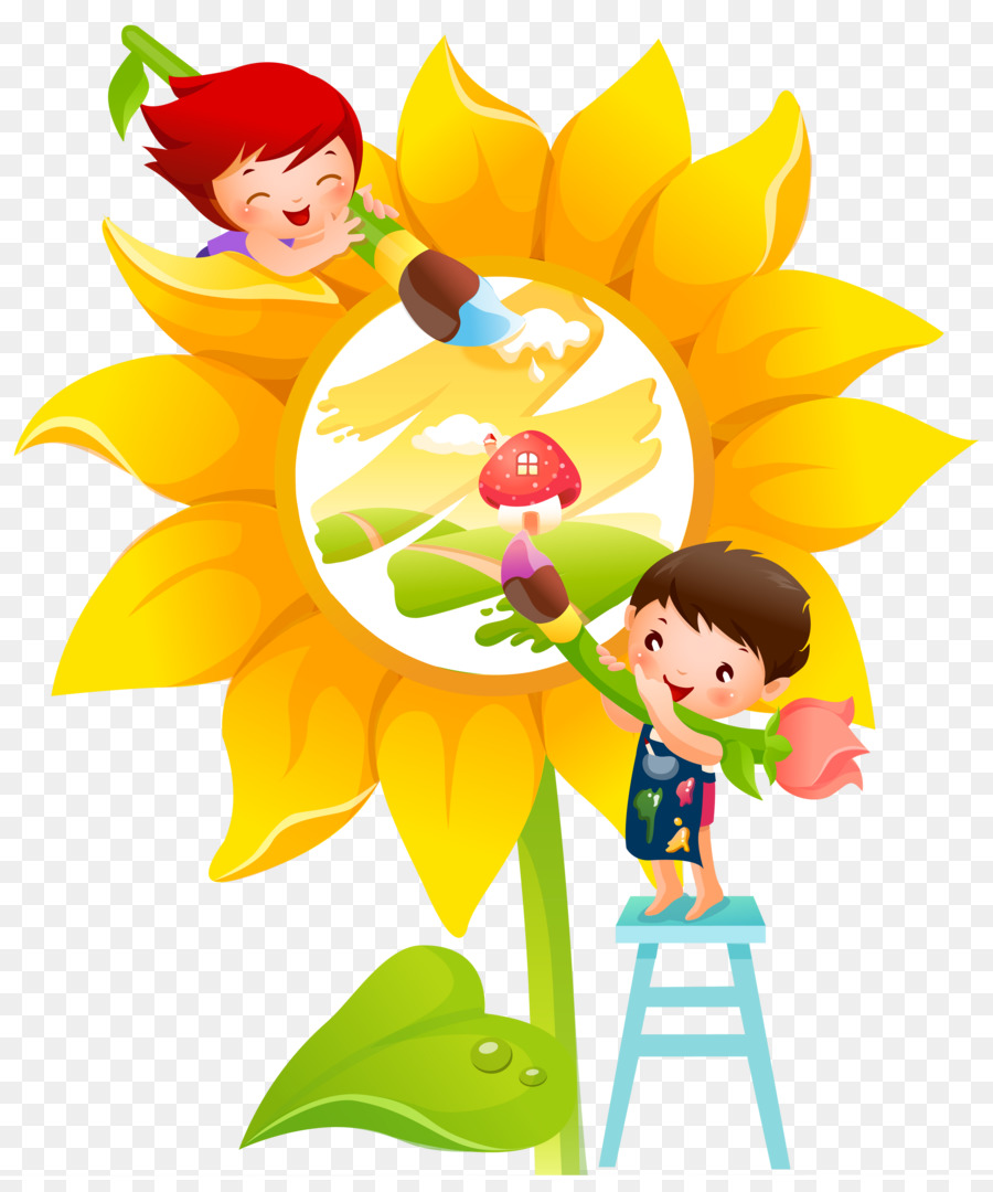 Mural Painting Nursery school Wall - painting png download - 3484 ...