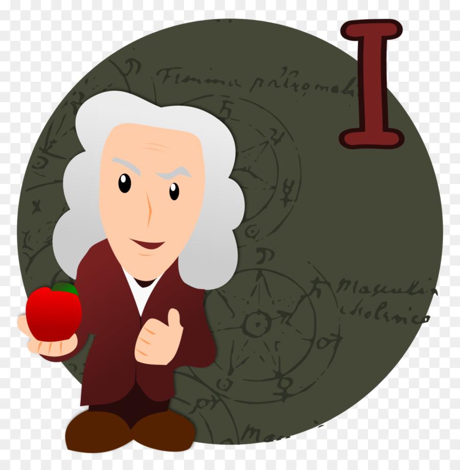 Physik Clip Art Isaac Newton Png Herunterladen 882907