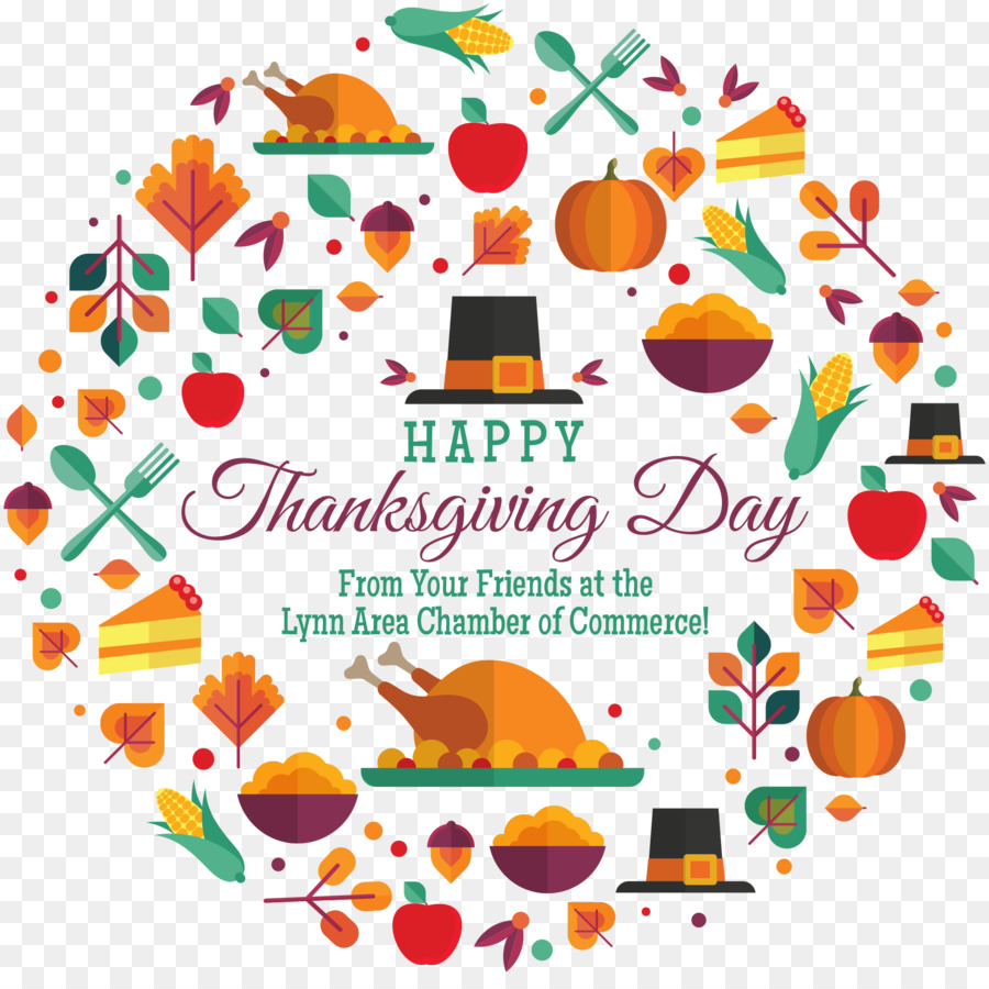 Happy Thanksgiving Day Wish Place Cards Holiday Lynnfield Png
