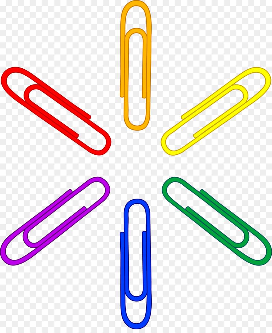 Papier Clip Briefpapier Clipart Buroklammer Cliparts Png