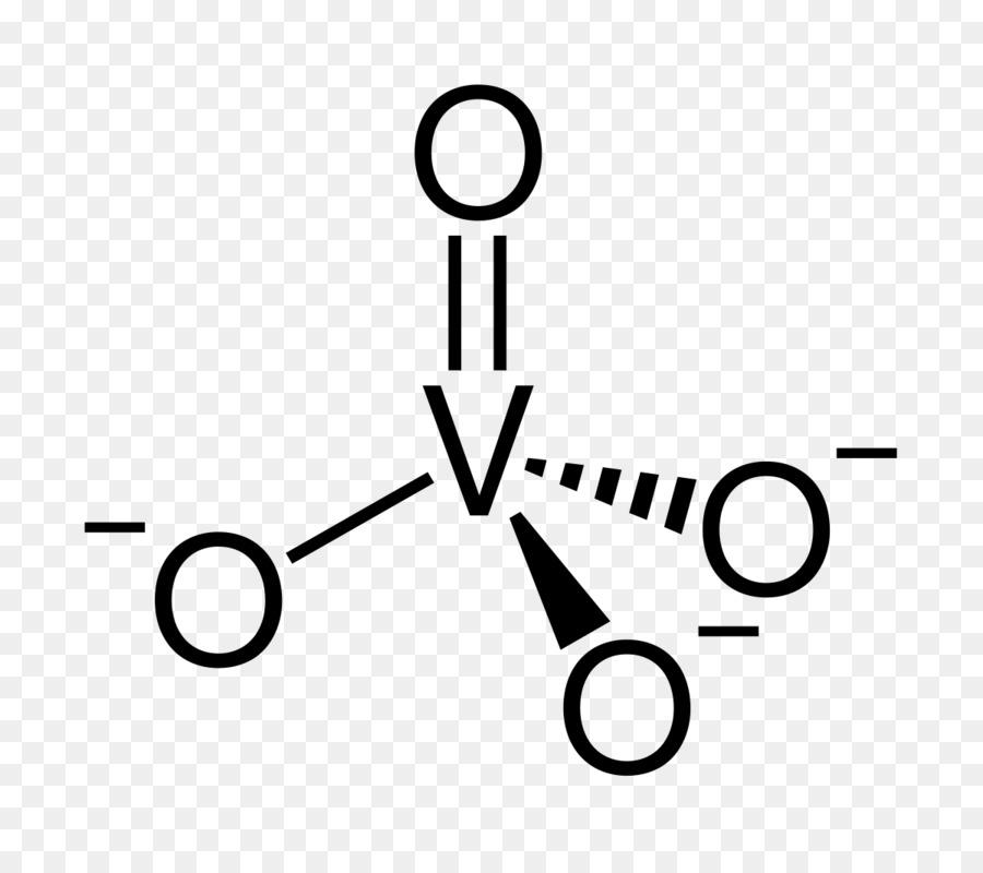 Sodium Orthovanadate Chemistry Phosphoric Acid Anion Ortho Png