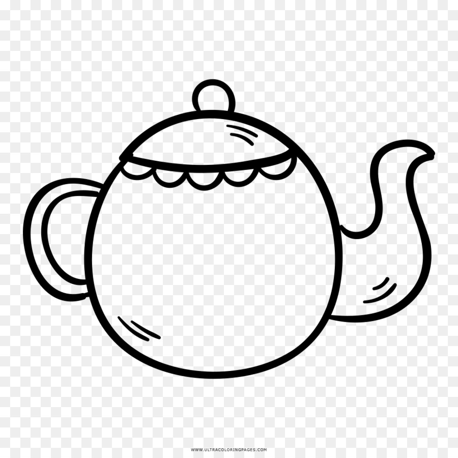 Teapot Kettle Drawing Clip Art Kettle Png Download 10001000