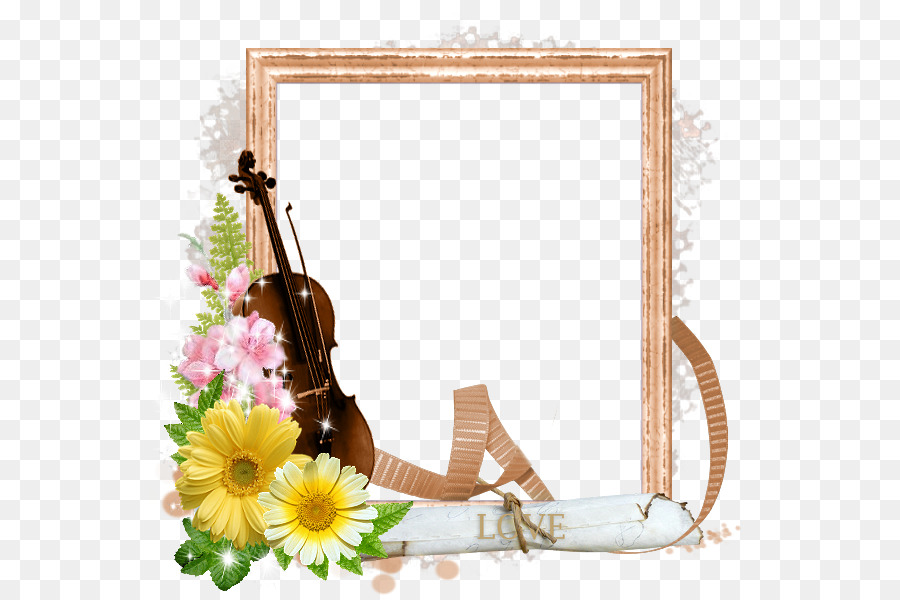 Picture Frames Digital scrapbooking Shadow box - beautiful violin ...