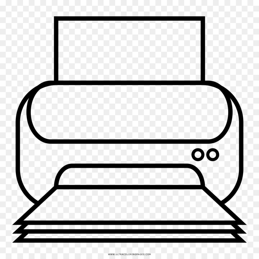 Printing Printer Computer Drawing Coloring book - laser png download ...