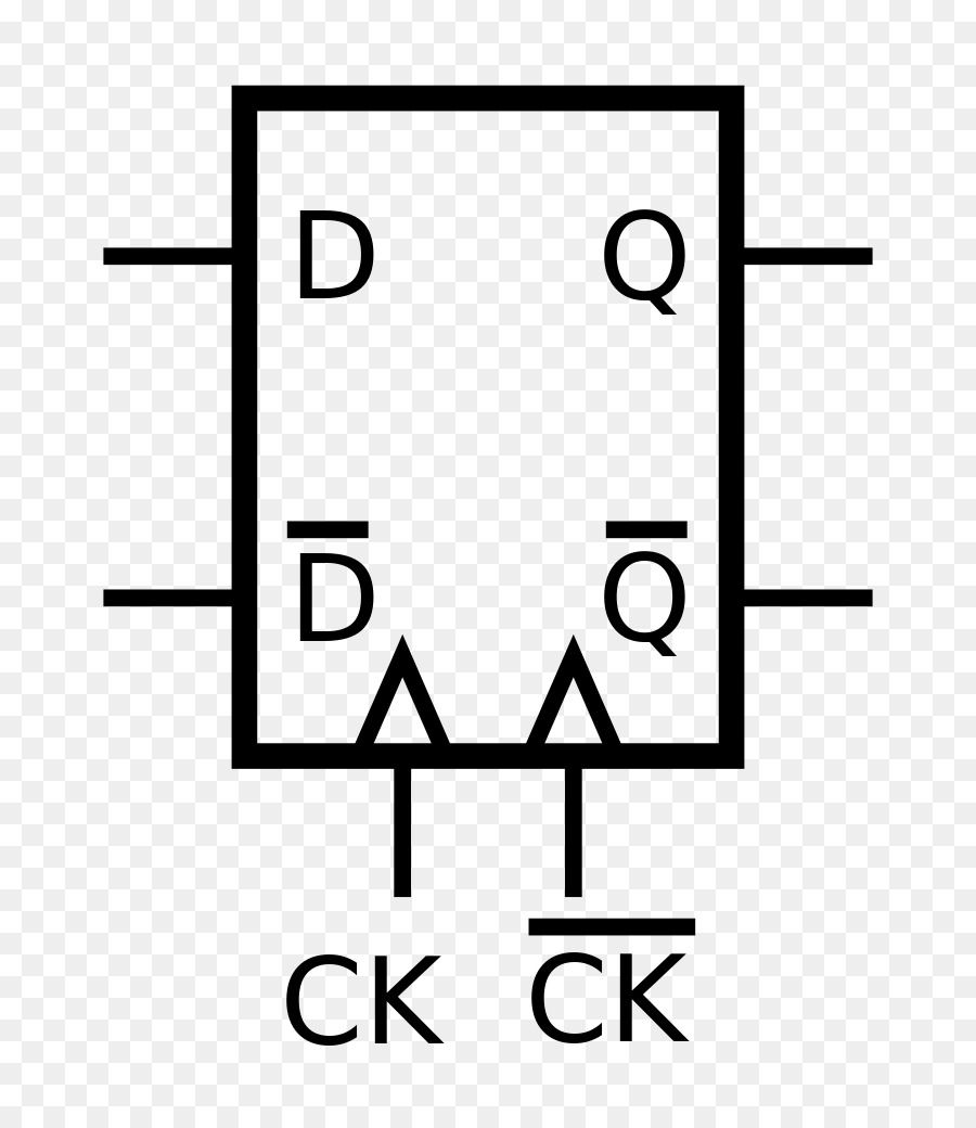 Flip Flop Electronic Circuit Clock Signal Symbol Electrical Network Bistable Latching Circuitry
