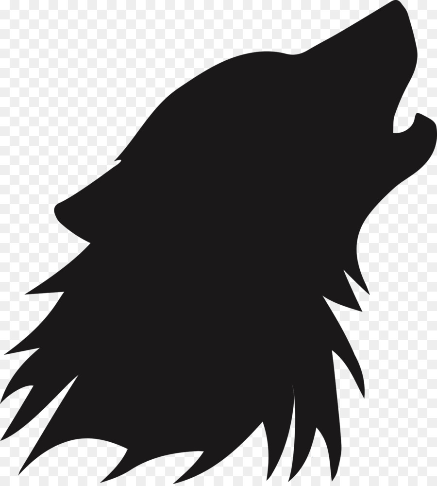 Gambar Tato Serigala Abu Body Piercing Stensil X Sikat Unduh Poles Putih