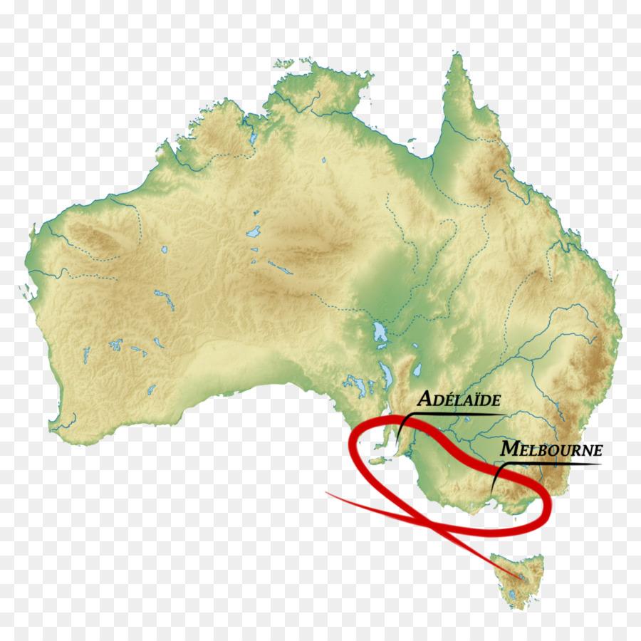 Flag of Australia Topographic map Terrain - Australia png download ...
