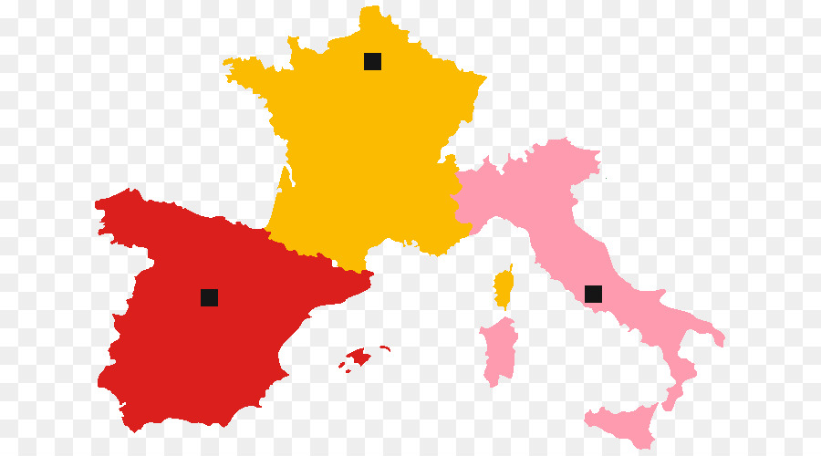 Italy France Map European Union Country - italy png download - 700 ...